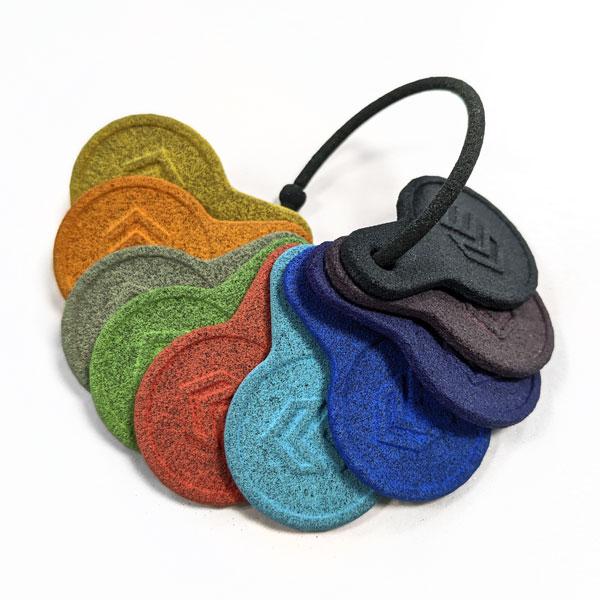 Farbpalette für Tauchfärbung