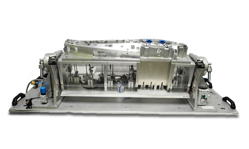 Anwendungsbeispiel CNC-Fräsvorrichtung der IMF Modell-und Formenbau GmbH
