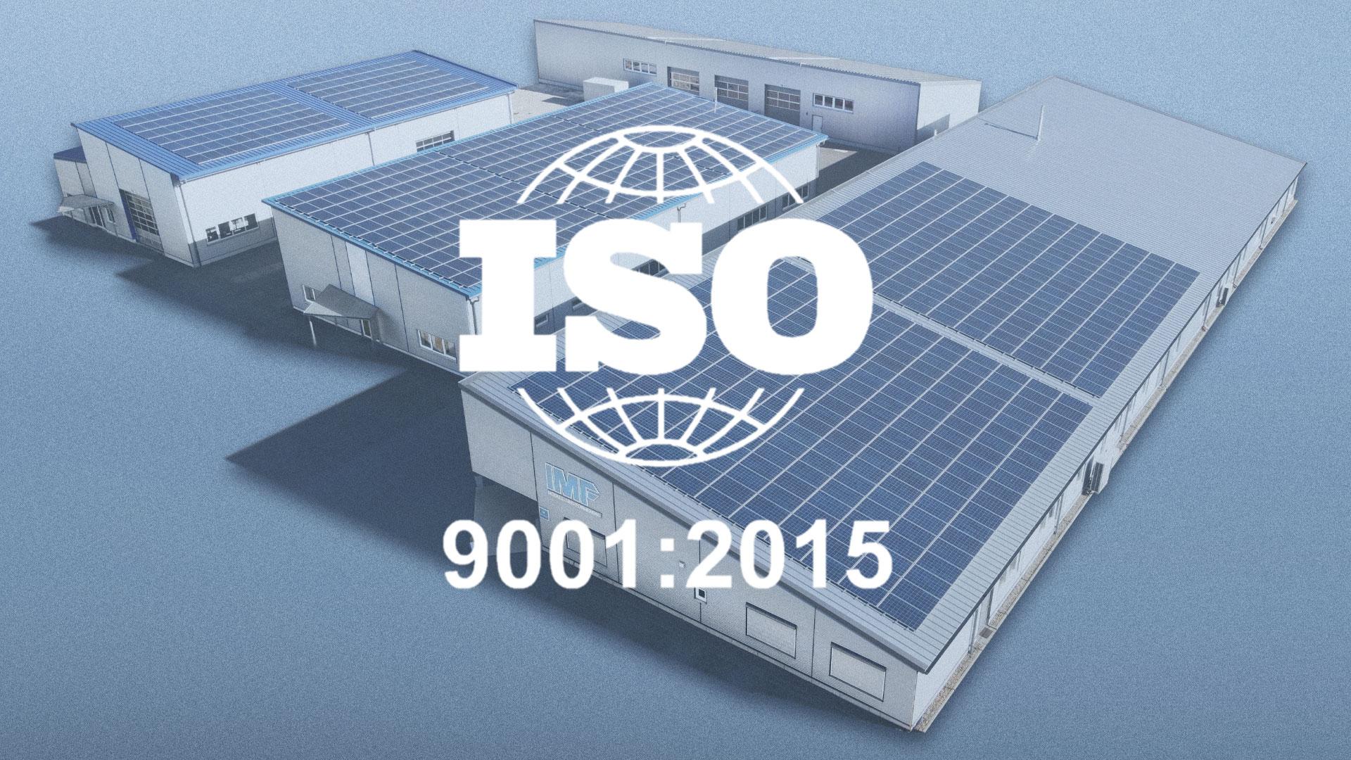 ISO-zertifiziertes Qualitätsmanagement bei IMF-3D